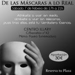 """TALLER VIVENCIAL """"De las Máscaras a lo Real"""""""