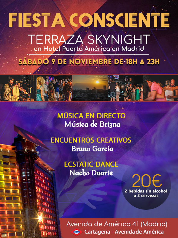 Fiesta Consciente Noviembre