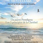 CLEARNESS. MENTE CLARA (Del 27 al 29 de marzo en Gredos)