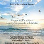 CLEARNESS. MENTE CLARA (Del 18 al 20 de septiembre en Gredos)
