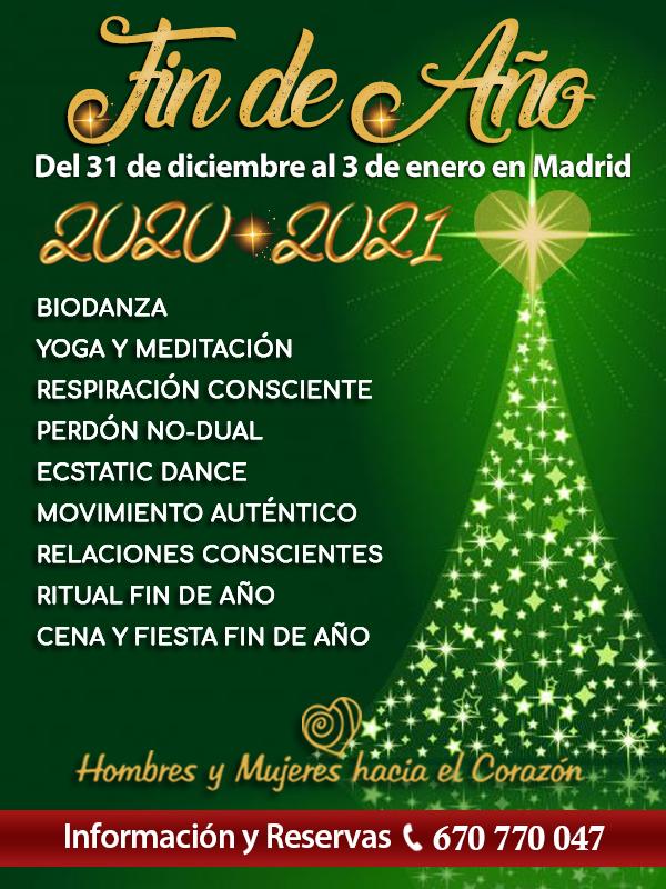 Fin de Año 2020 en Madrid